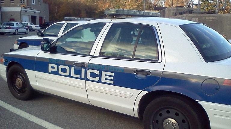 North Kingstown police cruiser nkpd