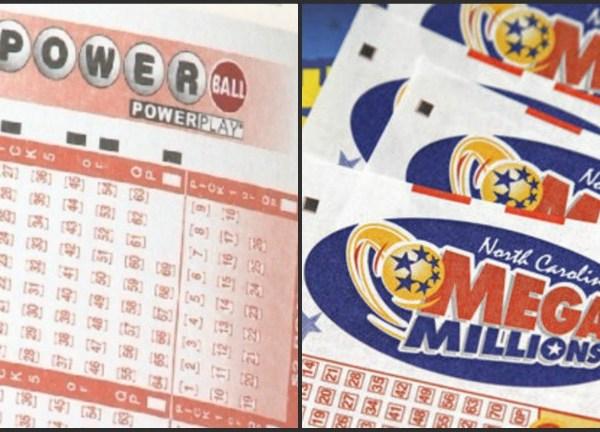 Powerball Mega Millions lottery tickets