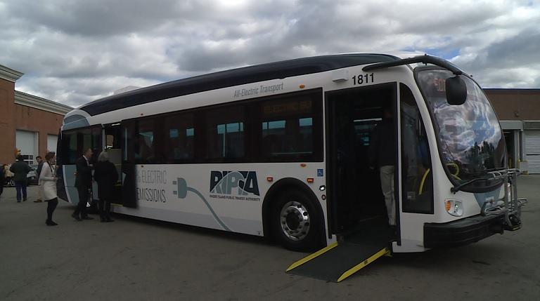 RIPTA electric bus