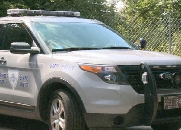 Rhode Island State Police cruiser RISP cruiser