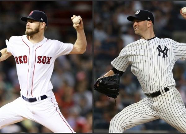 Red Sox Yankees Chris Sale JA Happ