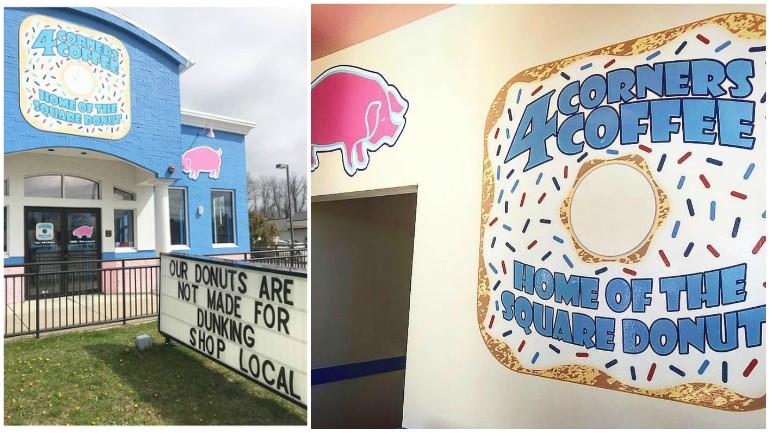 Warwick's 4corners Coffee, Pink Pig BBQ closing