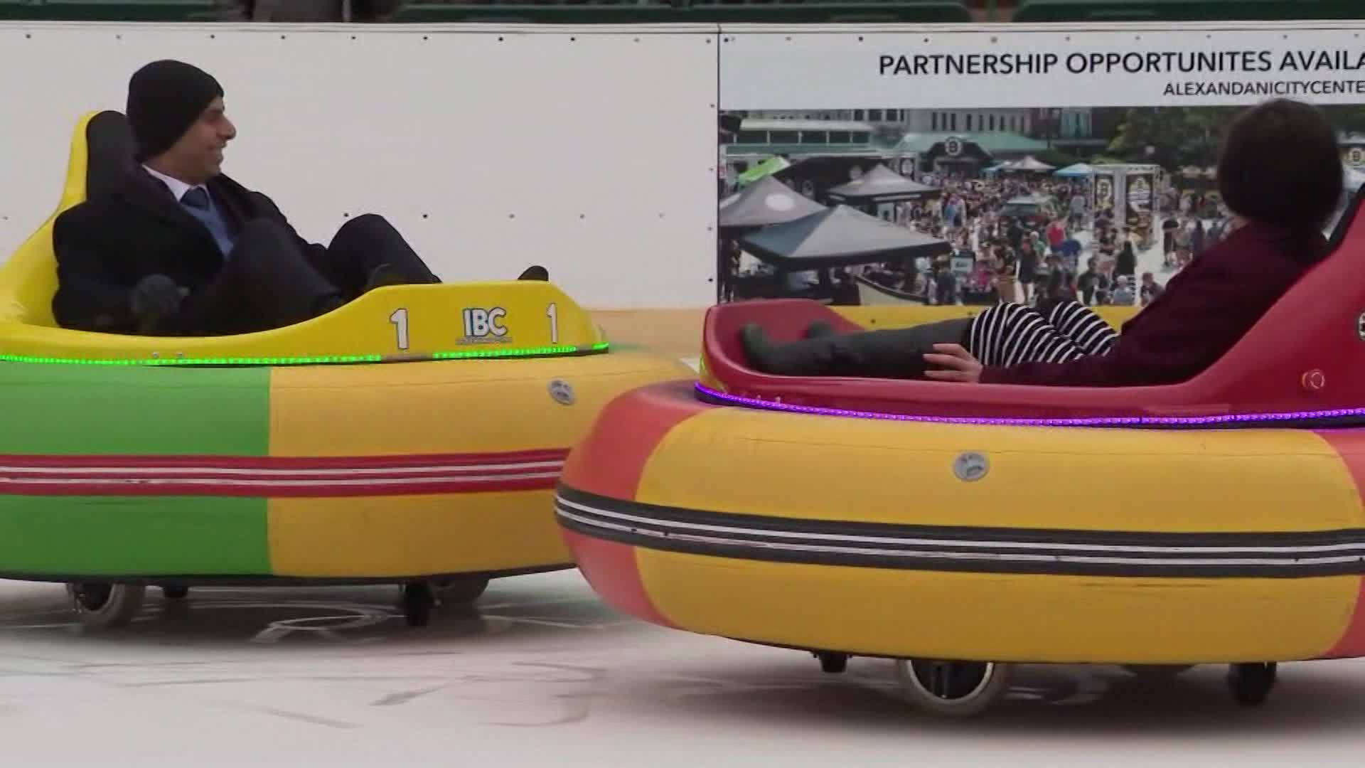 Bumper boats back in action