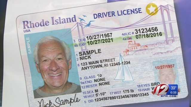 DMV: 'No need to rush' to upgrade to REAL ID in RI