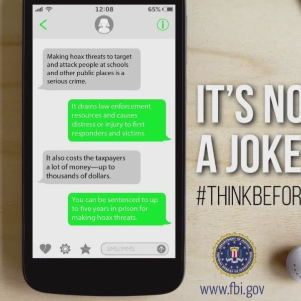 FBI launches campaign against hoax threats