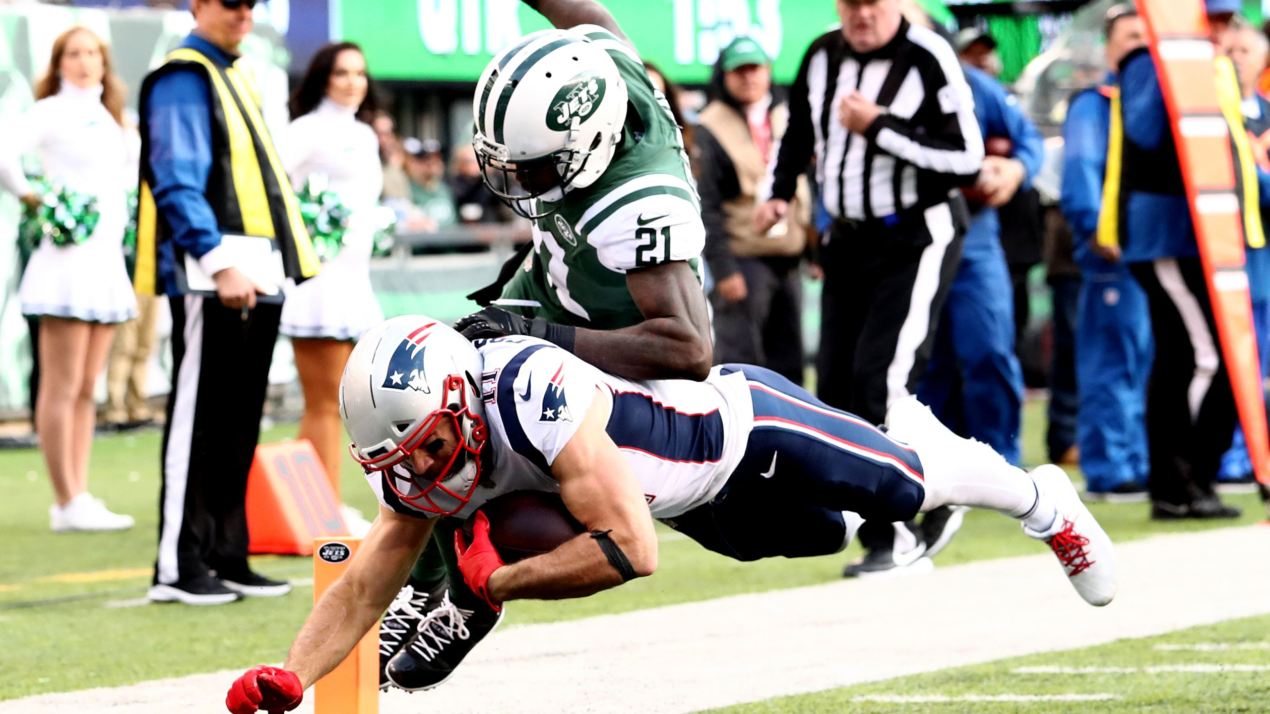 Patriots Defeat Jets On The Road 27 13