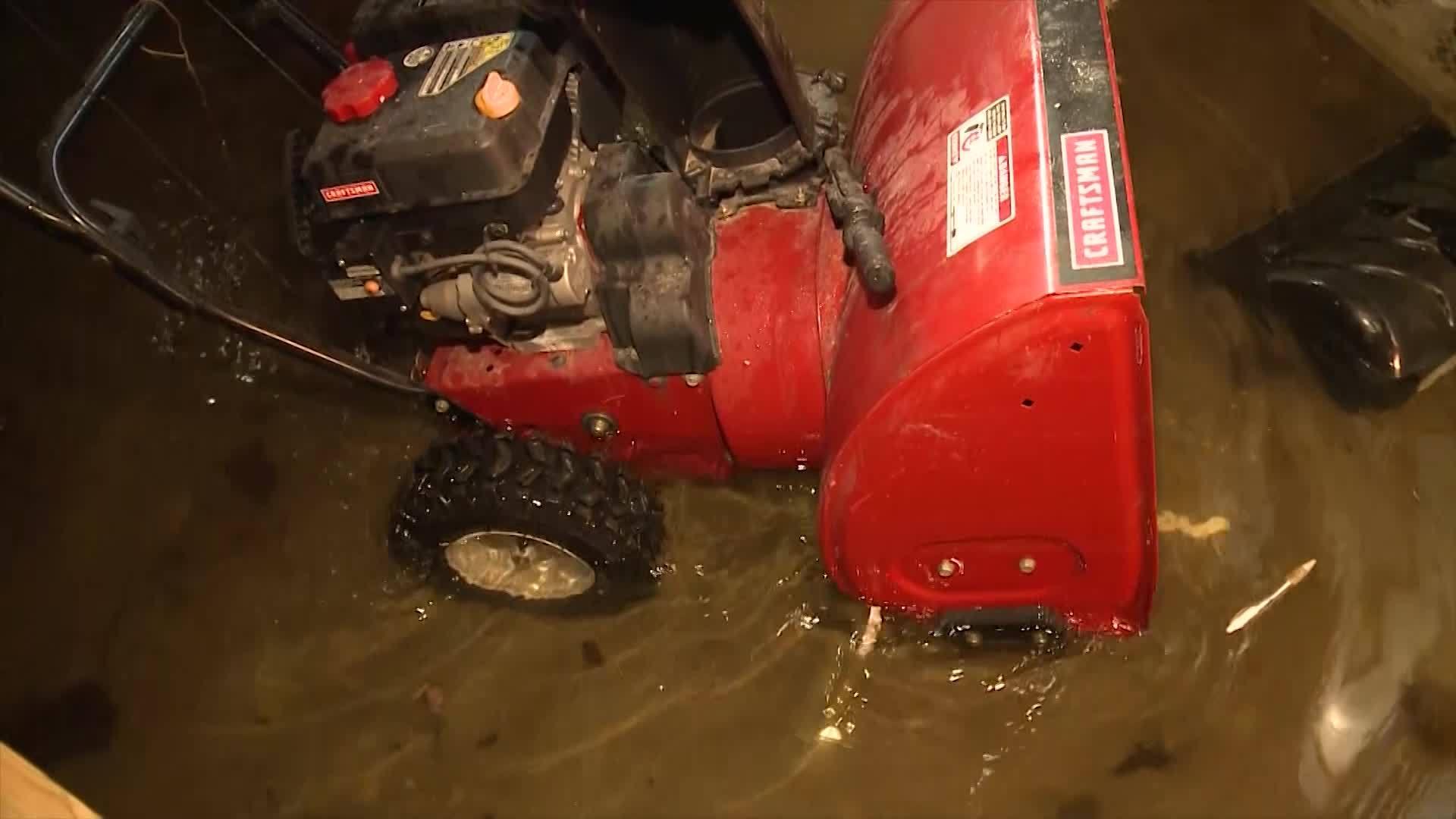 Johnston flooding impacting neighbors