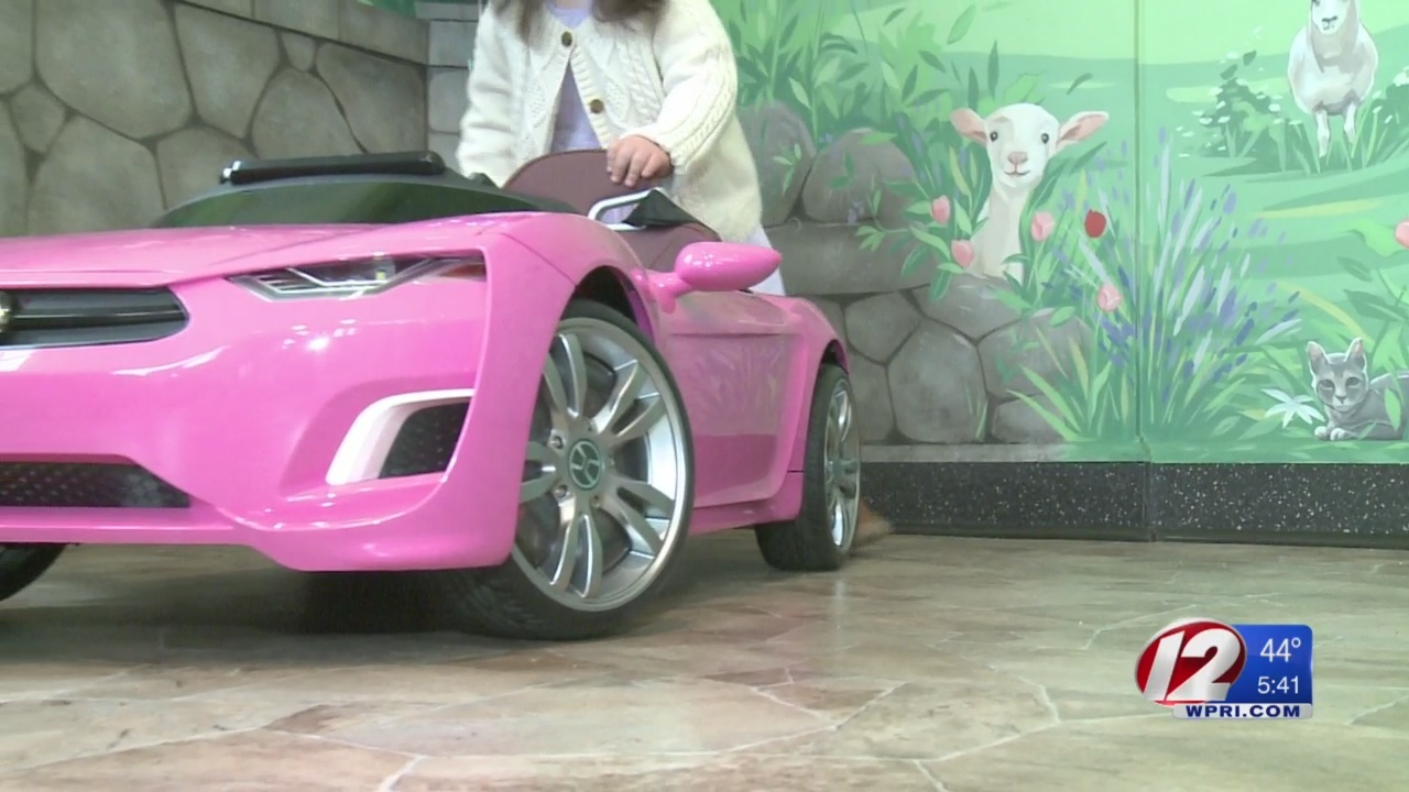 Mini car donated to dentist's office
