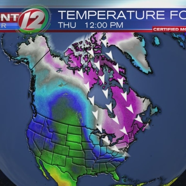 Record cold expected for Thanksgiving