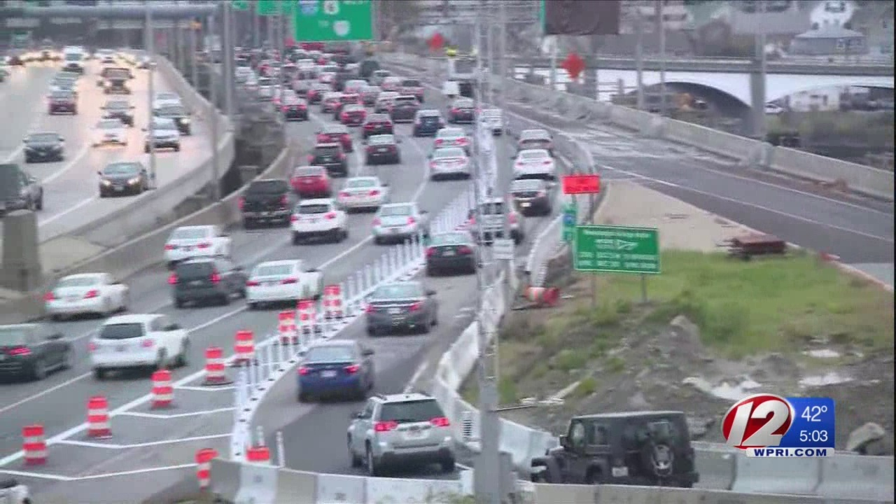 Take two: New traffic pattern in effect on I-195 West