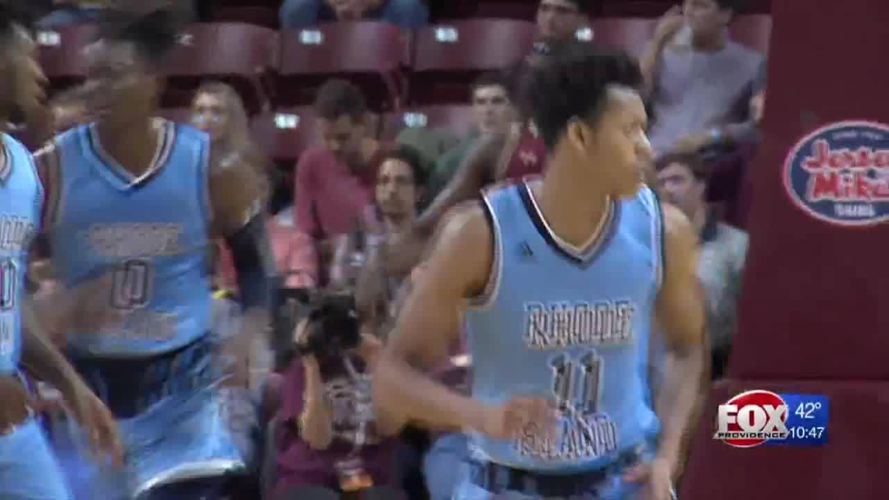 the best attitude e6dcc 68c9e Rhode Island men's basketball falls to College of Charleston ...