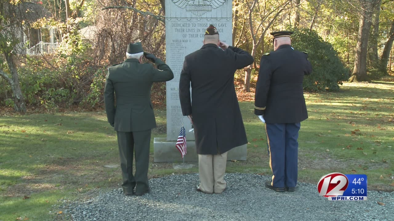 Veterans Day Ceremony Held in North Kingstown