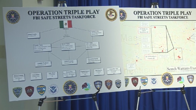 Suspects in Operation Triple Play plead guilty