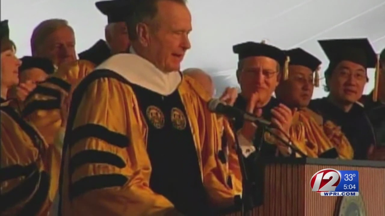 Bryant president reflects on friendship with George HW Bush
