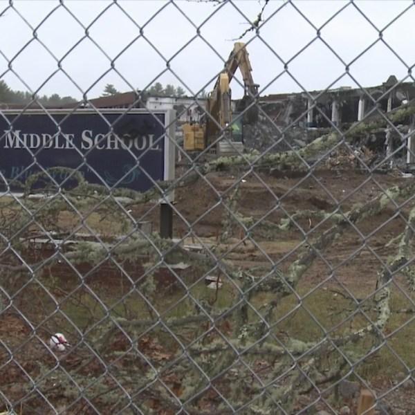 Demolition begins at Westport Middle School