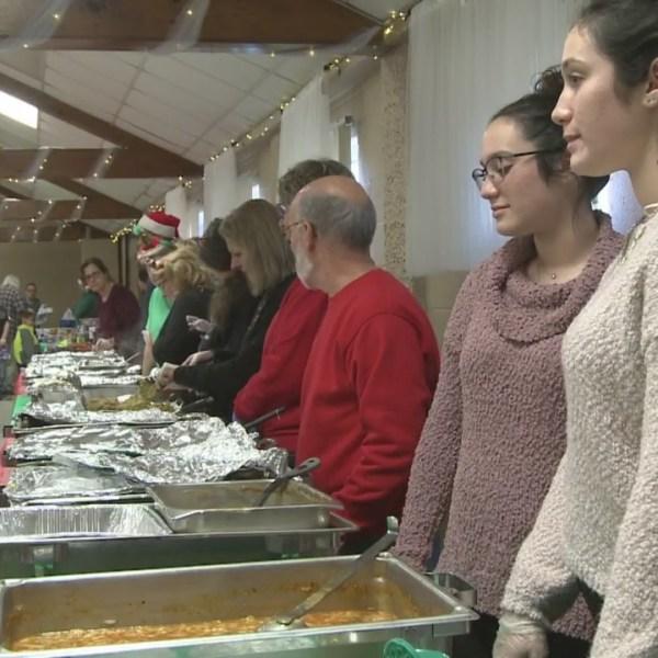 East Providence Christmas dinner