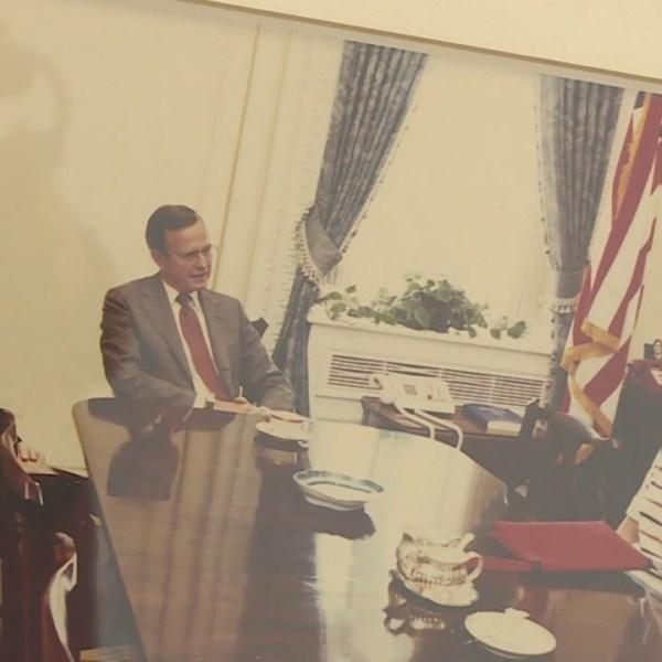 Former RI governor remembers George H. W. Bush