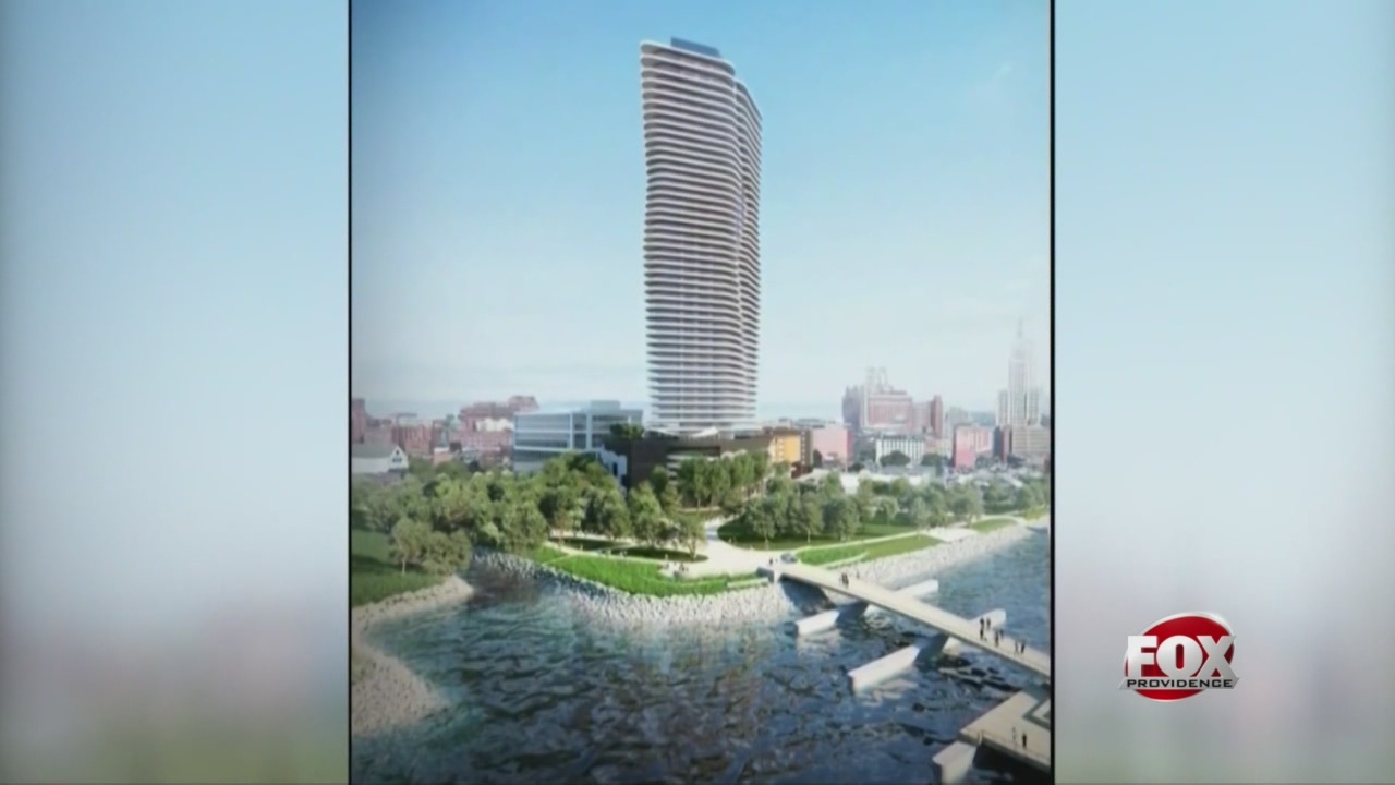 New York developer Jason Fane's proposed Hope Point Tower in downtown Providence