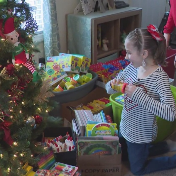 Small But Strong: Child battling rare disease exudes true meaning of Christmas
