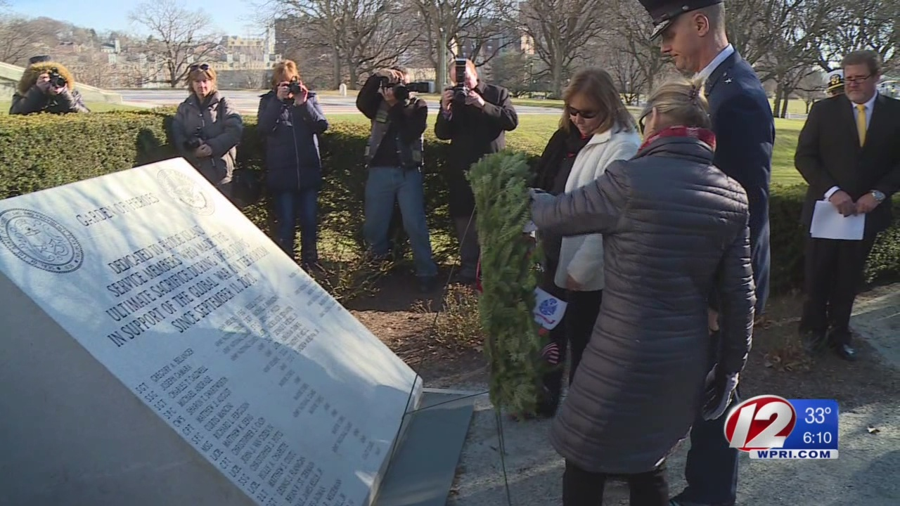 Wreath-laying at State House kicks off week of tributes for veterans