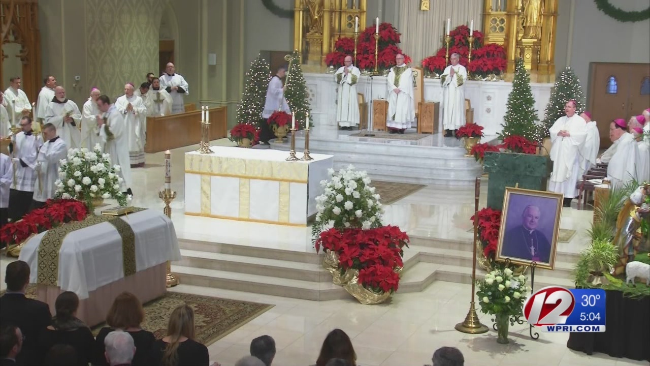 Catholic leaders, parishioners pay final respects to Bishop Mulvee
