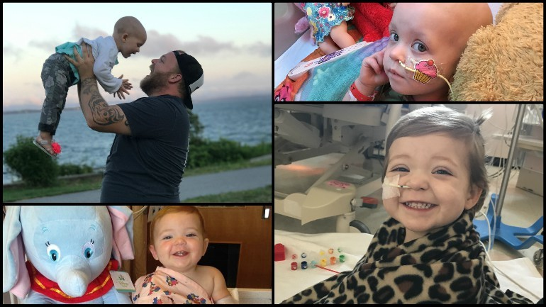Emerson's Story: 3-year-old bravely battles cancer for 3rd time