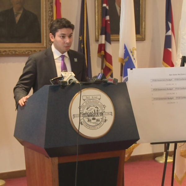 Fall River mayor scraps purple bag program weeks before recall election