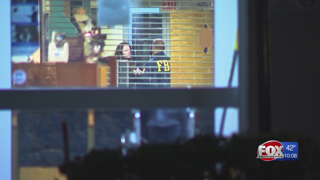 Federal agents conduct search at Koch Eye in Warwick