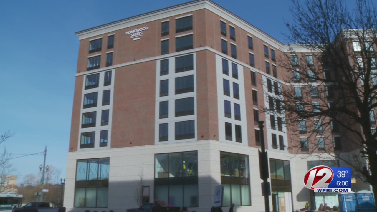 Hotel boom in Providence; city seeing record occupancy