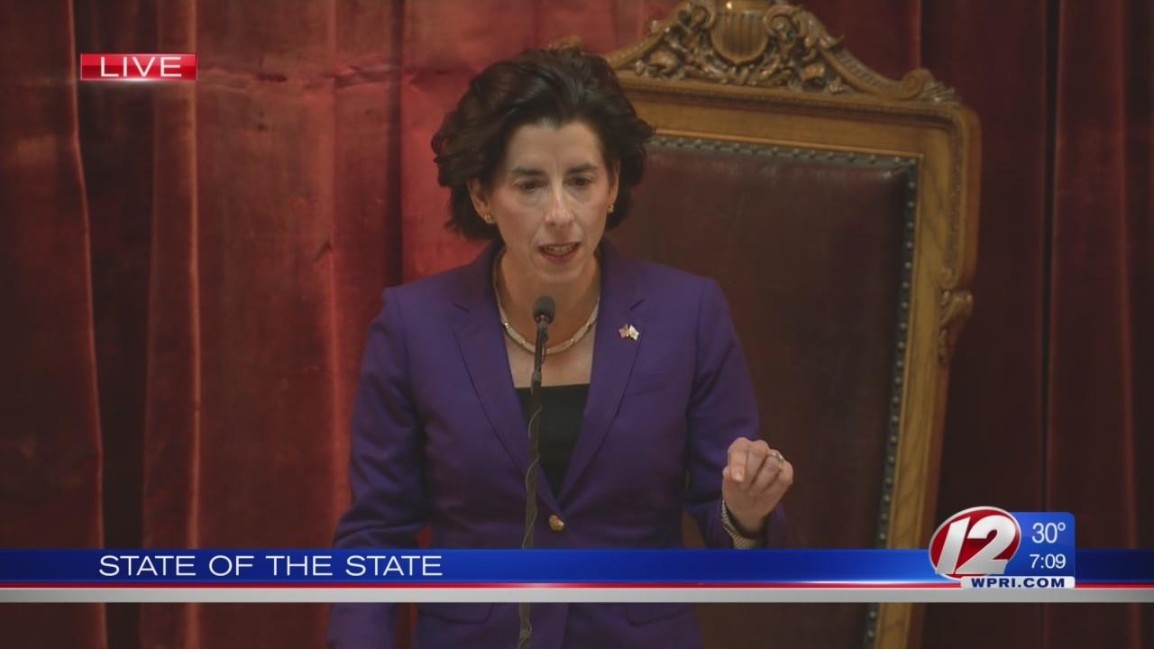 Raimondo's 2019 State of the State address