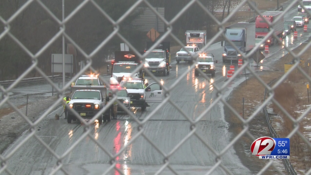 Route 146 pothole to blame for damaged vehicles, traffic