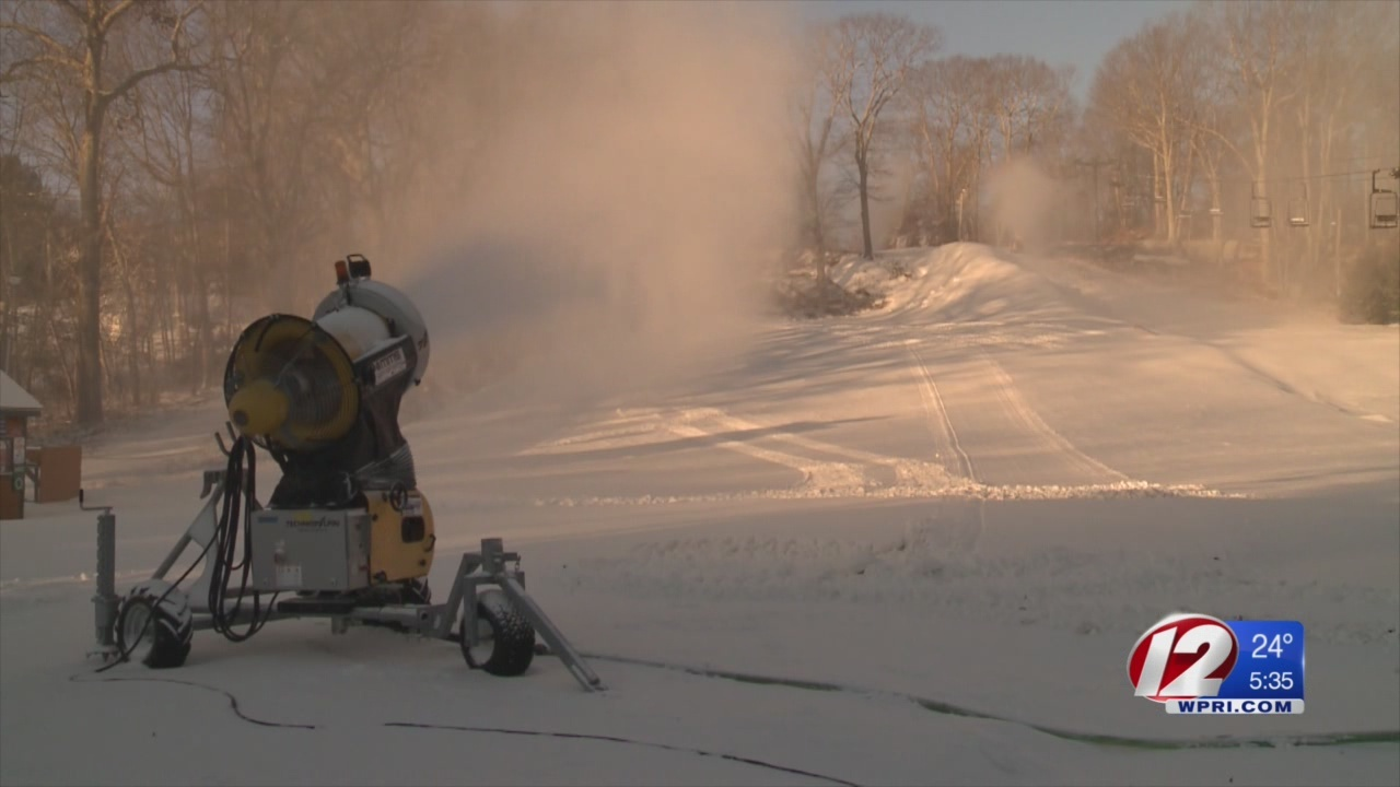 Yawgoo Fires Up Snow Machines to Keep Trails Open
