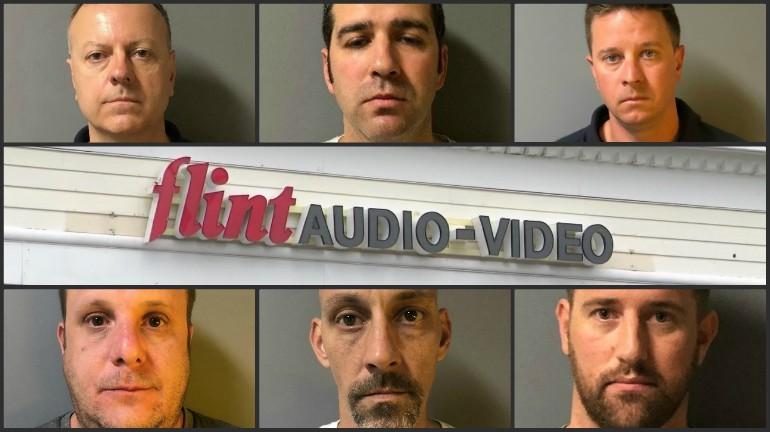 Flint Audio Video nude photo sharing suspects