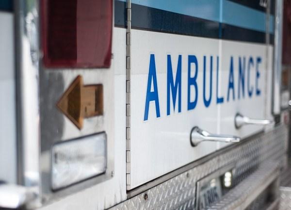 istock generic ambulance