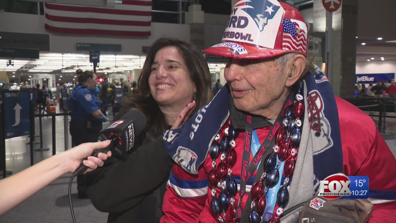 Big Game Bound: Super fan heads to 33rd Super Bowl