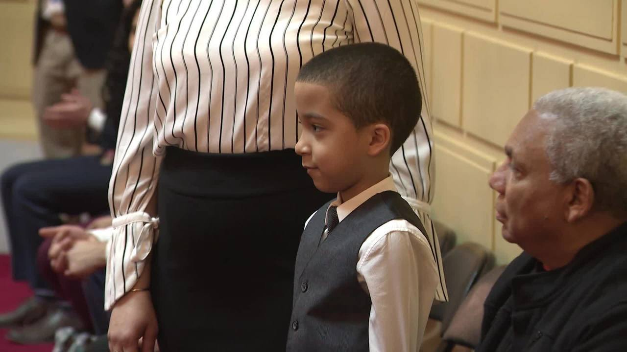 Boy who spotted Hasbro Children's Hospital fire celebrated by lawmakers