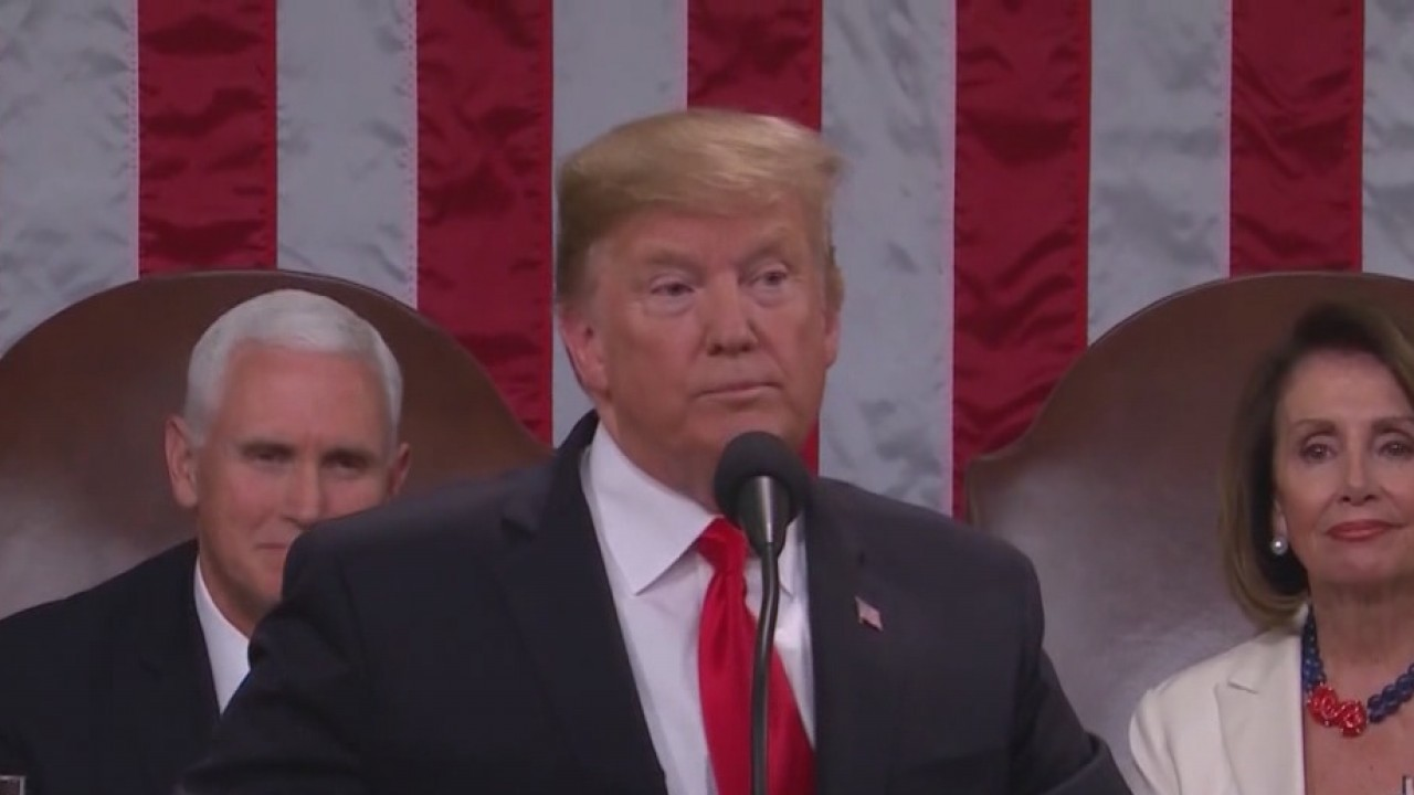 President Trump gives State of the Union