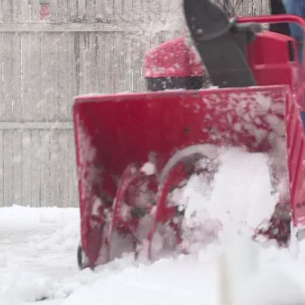 Roads clear following Monday's storm