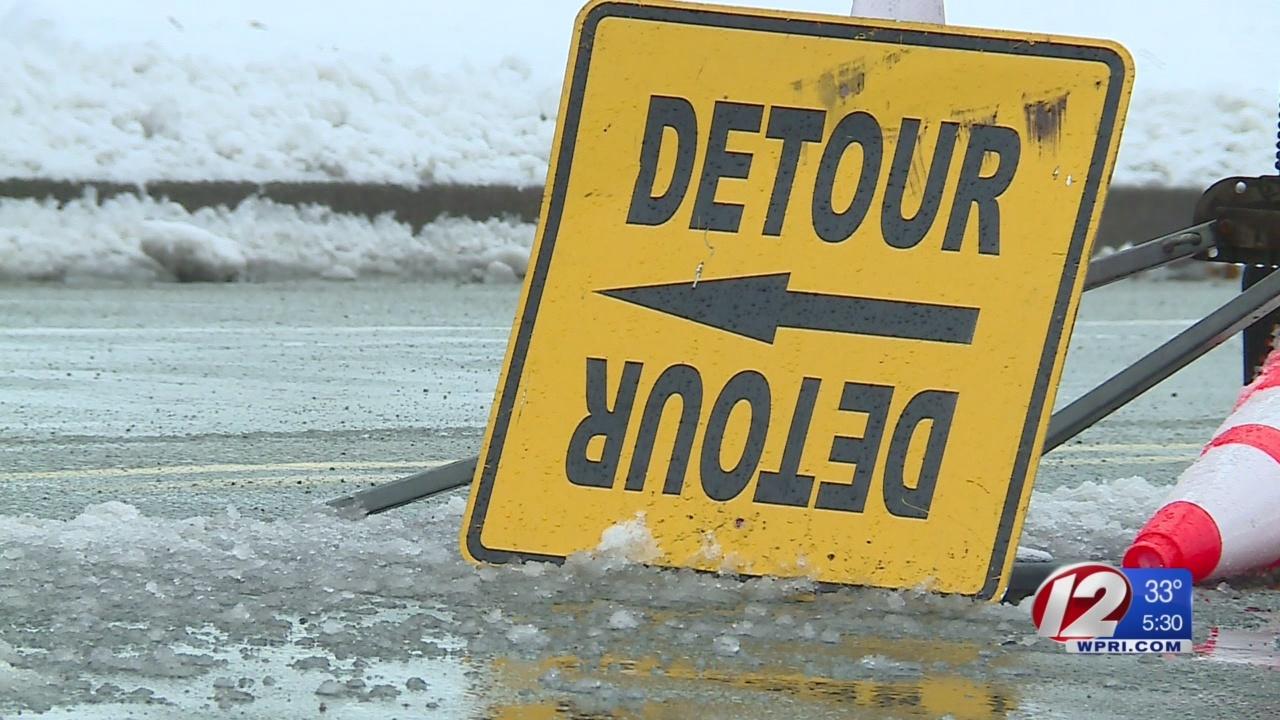 Sandy Lane detours return