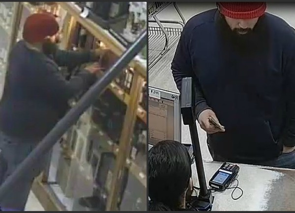 VIDEO NOW: Liquor Theft Caught on Camera