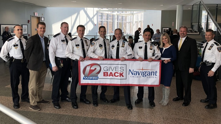 12 gives back: Providence police department