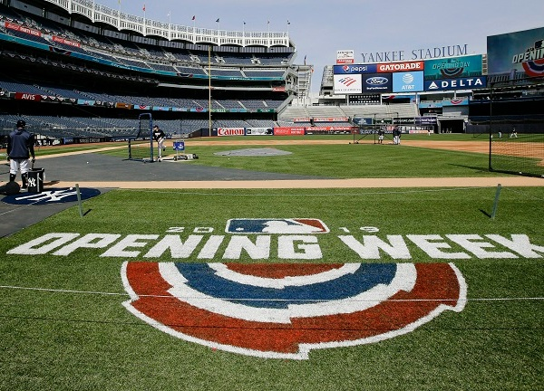 MLB Opening Week Yankee Stadium