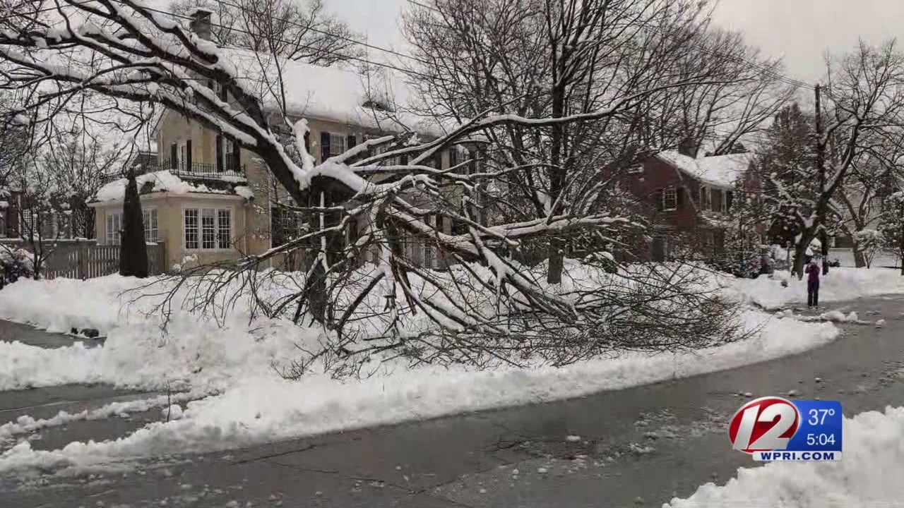 Cleanup continues following snow storm