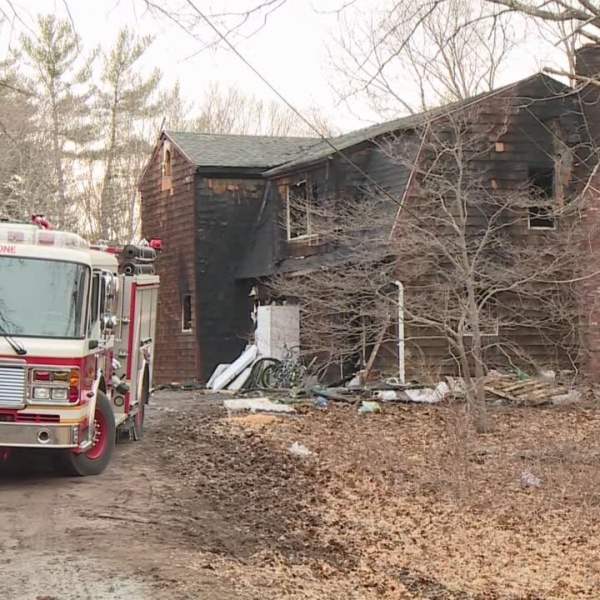 Johnston firefighter's home destroyed in Glocester fire