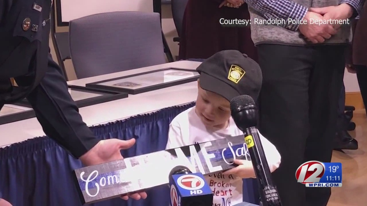 North Attleboro boy named honorary police officer