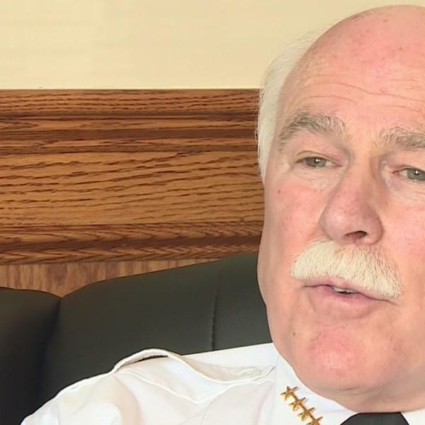 Sheriff Hodgson talking about President Trump's first veto