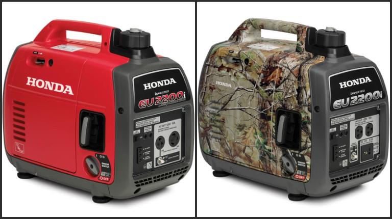 Honda generator recall collage