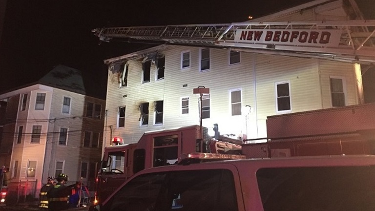 New Bedford arson North Front Street fire