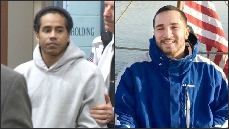 New Bedford murder suspect Alexis Silva and victim Reynaldo Pena