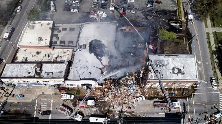 APTOPIX Explosion North Carolina_1554916031776